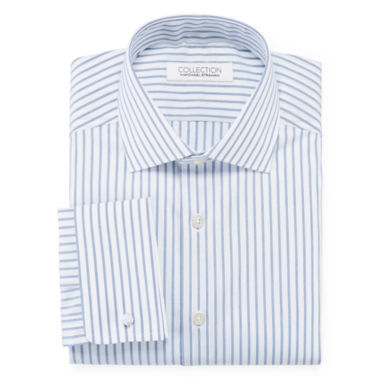 jcpenney.com | Collection by Michael Strahan Cotton Stretch French Cuff Dress Shirt - Big & Tall