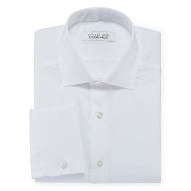 jcpenney.com | Collection by Michael Strahan Cotton Stretch Dress Shirt with French Cuffs