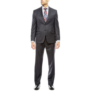 jcpenney.com | Collection by Michael Strahan Charcoal Windowpane Suit- Classic