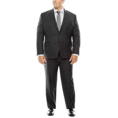 jcpenney.com | Collection by Michael Strahan Black Herringbone Suit- Big and Tall