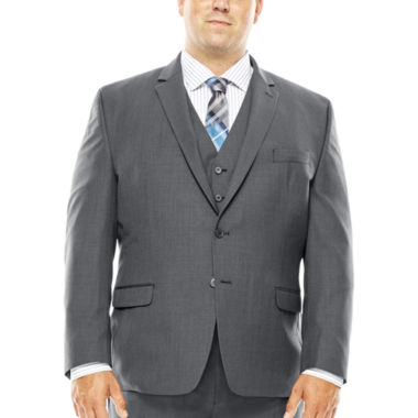 jcpenney.com | Collection by Michael Strahan Gray Weave Suit Jacket - Big & Tall