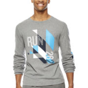 Xersion™ Long-Sleeve Gridiron Graphic Tee