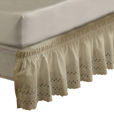 jcpenney.com | EasyFit Wrap-Around Eyelet Ruffled Bedskirt