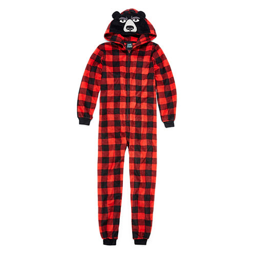 Red Bear Blanket Sleeper - Boys 4-20