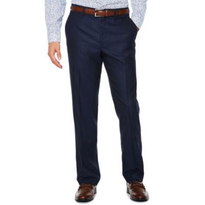 Jf J.Ferrar Blue Luster Stripe Stretch Slim Fit Suit Pants   Slim by Jf J.Ferrar