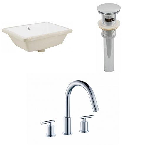 American Imaginations Undermount Sink
