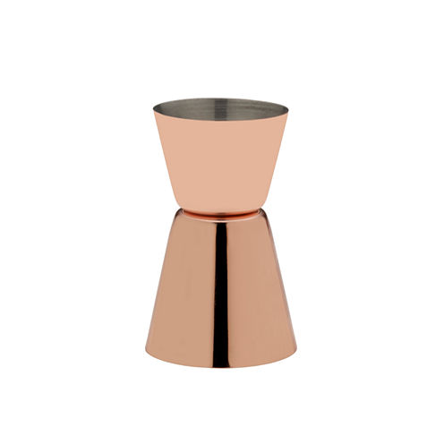 COPPER PLATED DOUBLE JIGGER