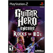 PS2™ Guitar Hero Encore Rocks the '80s