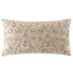 Royal Velvet® Alexandria Oblong Beaded Decorative Pillow