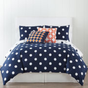 JCPenney Home™ 300tc Big Dot Duvet Cover & Accessories