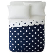 JCPenney Home™ 300tc Big Dot Duvet Cover