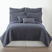 jcp home™ Barcelona Denim Quilt & Accessories