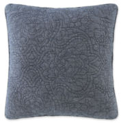 JCPenney Home™ Barcelona Denim Square Decorative Pillow