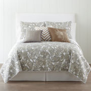 jcp home™ Paisley Quilt & Accessories