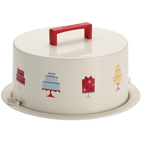 Cake Boss™ Serveware Metal Cake Carrier