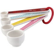 Cake Boss™ Countertop Accessories 4-pc. Melamine Measuring Spoon Set