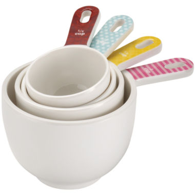jcpenney.com | Cake Boss™ Countertop Accessories 4-pc. Melamine Measuring Cup Set