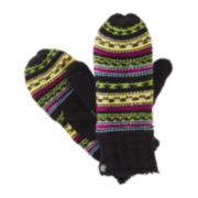 Isotoner® Chunky Knit Mittens