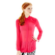 L'Amour by Nanette Lepore Long-Sleeve Button-Front Shirt