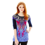 L'Amour by Nanette Lepore Long-Sleeve Tunic