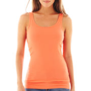 jcp™ Ribbed Tank Top