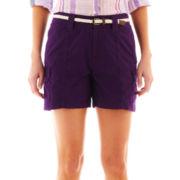 St. John's Bay® Utility Cargo Shorts