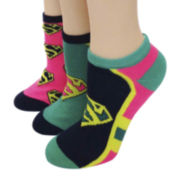 3-pk. Character Low-Cut Socks