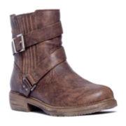 MUK LUKS® Dani Womens Short Buckle Boots