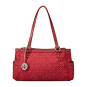 Relic® Logo Jacquard Double Shoulder Bag