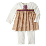 Wendy Bellissimo™ 2-pc. Tunic and Pants Set – Girls newborn-24m