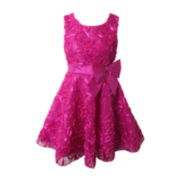 Pinky Soutache Dress - Girls 7-16