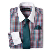 Steve Harvey® Long-Sleeve Fashion Shirt and Tie Set – Boys 8-18