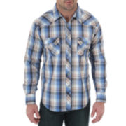 Wrangler® Long-Sleeve Denim Shirt