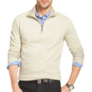 Van Heusen® Long-Sleeve Quarter-Zip Sweater
