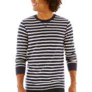 Arizona Feeder-Striped Thermal Tee