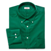 IZOD® Solid Dress Shirt–Big & Tall
