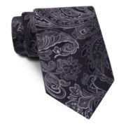 Stafford® Tonal Paisley Tie - Extra Long