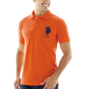 U.S. Polo Assn.® Big Pony Solid Piqué Polo