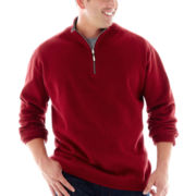 The Foundry Supply Co.™ Reversible Quarter-Zip Sweater–B&T