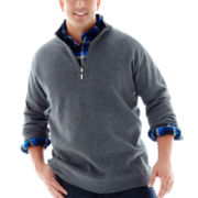 The Foundry Supply Co.™ Reversible Quarter-Zip Sweater–Big & Tall