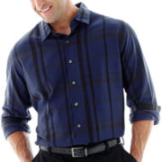 Van Heusen® Long-Sleeve Dobby Woven Shirt–Big & Tall