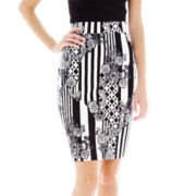 L'Amour by Nanette Lepore Midi Pencil Skirt