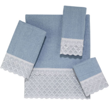 jcpenney.com | Avanti Eyelet Scallop Bath Towels