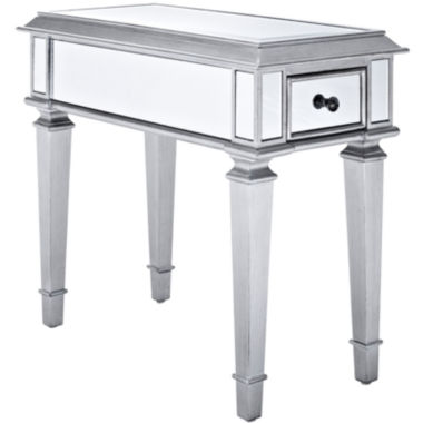 "jcpenney.com | Garbo Mirrored 24"" Side Table"