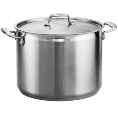 jcpenney.com | Tramontina® Gourmet 16-qt. Tri-Ply Covered Stock Pot