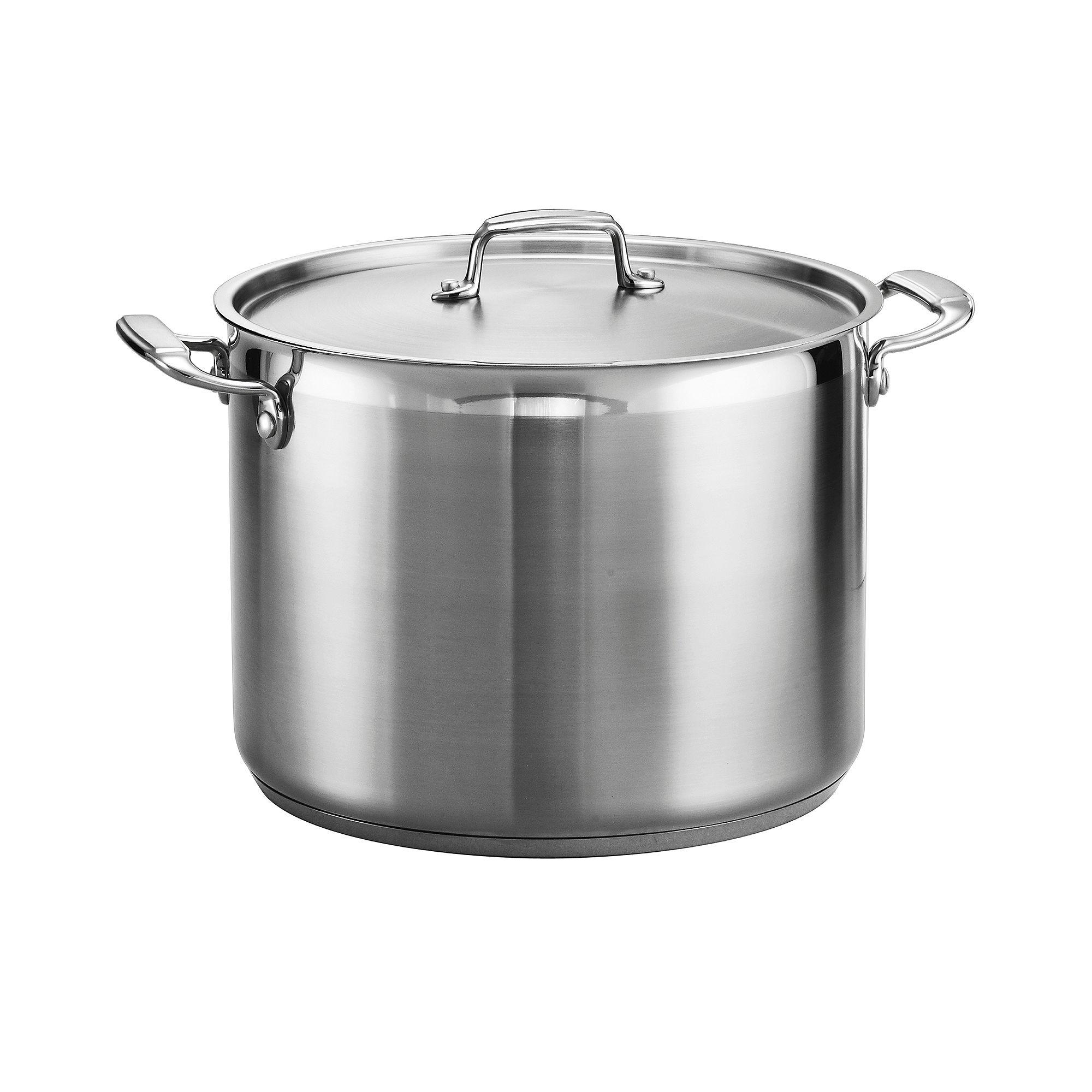 Tramontina Gourmet 16-qt. Tri-Ply Covered Stock Pot