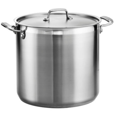 jcpenney.com | Tramontina® Gourmet 20-qt. Tri-Ply Covered Stock Pot