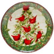 Certified International Winter Wonder Round Serving Platter