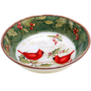 Certified International Winter Wonder Pasta Serving Bowl