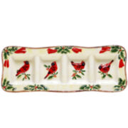 Certified International Winter Wonder Relish Tray